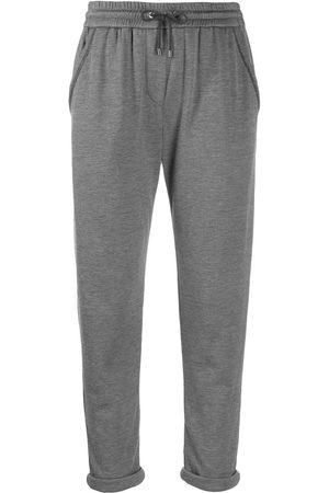 Brunello Cucinelli Ženy Tepláky - Jersey sweatpants
