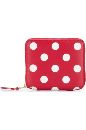Comme des Garçons Polka-dot compact wallet