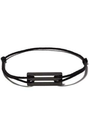 Le Gramme Ceramic cord bracelet
