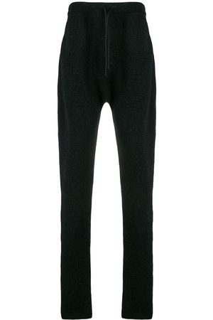 ISABEL BENENATO Drawstring straight-leg trousers