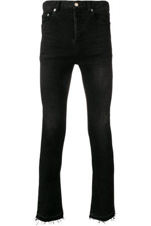 Saint Laurent Raw edge skinny jeans
