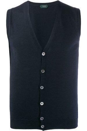 ZANONE Muži Vesty - Knitted vest