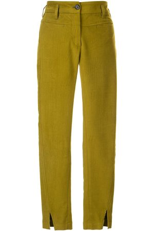 ANN DEMEULEMEESTER Cropped skinny fit trousers