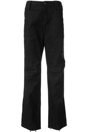 Helmut Lang 2000's zipped slim trousers