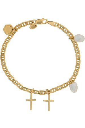 Maria Black Cross Charm bracelet