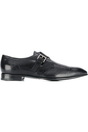 Prada Distressed effect monk shoes