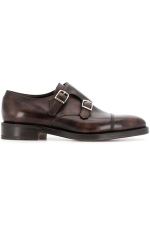 JOHN LOBB Muži Do práce - Buckle monk shoes
