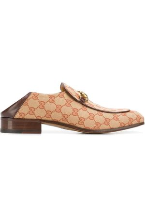 Gucci GG canvas Horsebit loafers
