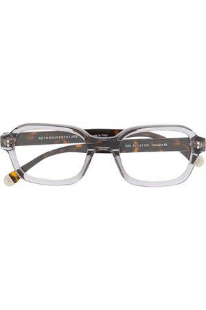 Retrosuperfuture Contrast square glasses
