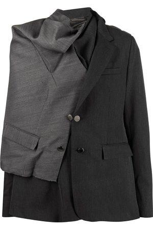Fumito Ganryu Asymmetric blazer