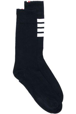 Thom Browne 4-Bar Lightweight Mid-Calf Socks