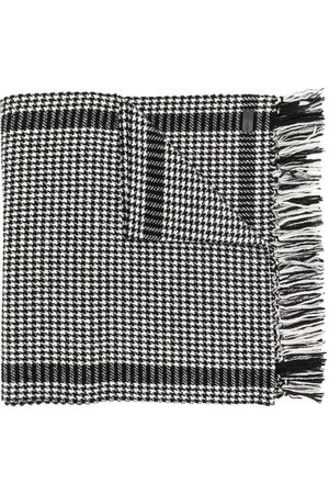 Saint Laurent Houndstooth print scarf