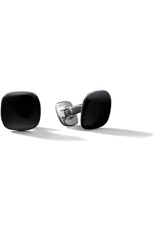 David Yurman Streamline black onyx cufflinks