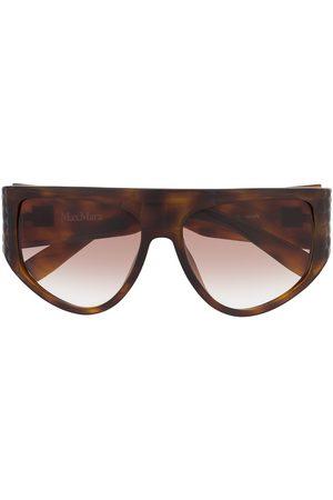 Max Mara D-frame oversized sunglasses
