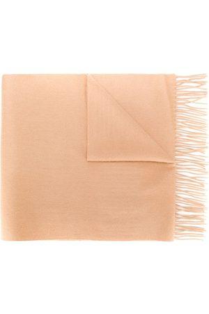 N.PEAL Šály a šátky - Large woven cashmere scarf